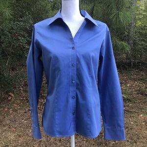 Westbound Gold Label Blue Women's Shirt Size 8